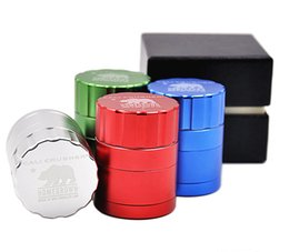 "42MM  1.65"" Cali Crusher Homegrown Hornet grinder Herb Spice & Tobacco Grinder 4 Piece Aluminum with Gift Box"