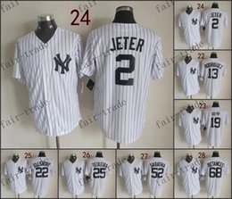 Wholesale New York Derek Jeter alex rodriguez Baseball Jersey Cheap Rugby Jerseys Authentic Stitched Size