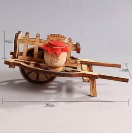 Wholesale Bamboo disc model of bamboo crafts Windmill Farm tools get a break simulation desktop decoration