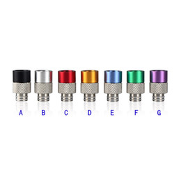 510 Drip Tip Wide Bore Drip Tips Stainless steel with Aluminum Drip Tip for 510 DCT EGO Kanger Protank E Cigarettes Atomizer Mouthpieces