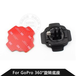 3M adhesive fixed Authentic Accessories GOPRO GoPro helmet with hero3 +   2 360-degree rotating base
