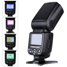 Wholesale TRIOPO TR N Speedlite i TTL Camera Flash High Speed Sync s TFT Colour Display for Nikon Digital SLR D2556