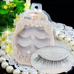Wholesale-Fastest Shipping mink eyelash makeup 3D false eyelash extension 3D eye lash brand false eyelash