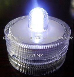 Wholesale The new LED candle light water aquarium light brown coffee candle party wedding hall bar candle box