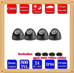 CIA- New arrival promotion 800tvl CMOS 24leds blue leds indoor CCTV dome Camera Security camera. free shipping!