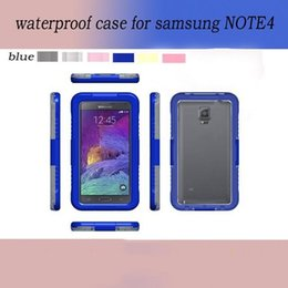 Wholesale For Samsung NOTE4 Waterproof Dirt Snow Shock Water Proof Shockproof Case For iPhone6 iphone Plus NOTE4 Case Retail Packaging