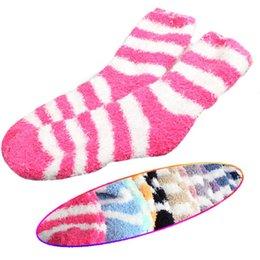 Wholesale Popular Women Thickening Towel Floor Fashion Keep warm Base Sleep Socks New MTY3