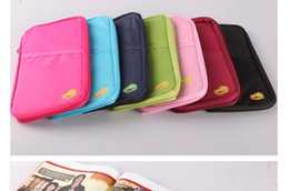 Passport Holder Organizer Wallet multifunctional document package candy travel wallet portable purse business card holder New style LB1