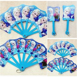 Wholesale Frozen Children s Day Gift Christmas Gift Anna Elsa Princess Kid s Fan Children s Fan Baby Fan Children s Toys Baby Toys