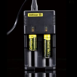 Wholesale Original bay Nitecore I2 Charger good quality battery charge intellicharger nitecore i2 charger
