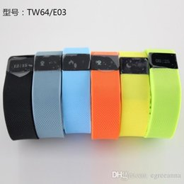 TW64 Smart Bracelet Bluetooth Smart Wristbands Smart Watch Waterproof & Passometer & Sleep Tracker Activity Monitor Function for ios android