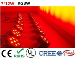 Wholesale DJ x W RGBW IN1 LED SlimPar LED Stage Uplighting LED par lighting No Noise