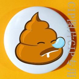 Descuento parodia divertida Bai Qiu, mierda vergonzoso divertida parodia divertida en la calle pin insignia emblema pin insignia