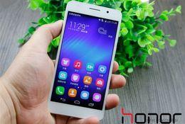 Wholesale Hot Sale Original smartphones G RAM GB ROM huawei honor lte dual sim MTK6592 Octa Core mp international Unlocked version phone
