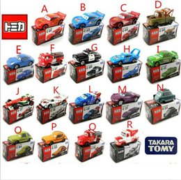 Wholesale 18style TOMY authentic cars Cars alloy car model automobile vehicles autos cars2 trailer cars game bk012