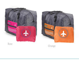 Wholesale Foldable Nylon Suitcase Hand Luggage Cabin Small Wheeled Travel Folding Flight Bag Large Capacity Case Travel Insert Handbag LB3