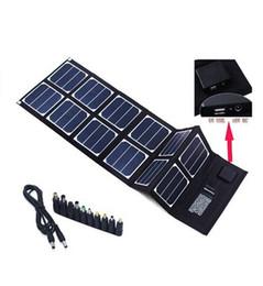 Usb gopro en venta-40W Solar Charger (5V USB + 18V DC) Paquete plegable portátil del panel solar para Apple Samsung GPS Gopro Lenovo Notebook
