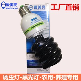Wholesale Dedicated lamp aquaculture farm pest control insecticidal violet blacklight tube lamp lamp Russia