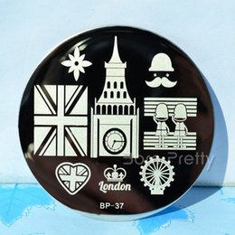 Wholesale England Style Nail Art Stamping Template Image Plate BORN PRETTY BP37