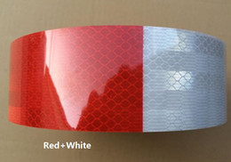 Red and white reflective sticker high light reflective strip for Car Truck Van Car Motorcycle Traffic Signal