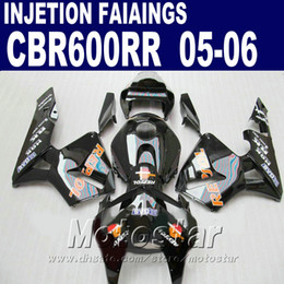 ABS Plastic Injection Molding for HONDA CBR 600 RR fairing 2005 2006 cbr600 rr 05 06 cbr 600rr fairing kit C9FR