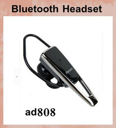ad808 3.0 Bluetooth Headset Tone ear hook Stereo Bluetooth Wireless Headset for Bluetooth-enabled in-ear mobile phones pc EAR039