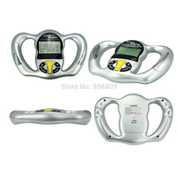 Wholesale Health Compass Mini Digital LCD Handheld BMI Tester Body Fat Monitors Good Quality Hot Selling Easy To Carry
