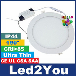 Wholesale Ultra Thin Led Downlights W W W W W W W SMD2835 Led Recessed Lights Panel Lamp Angle AC V