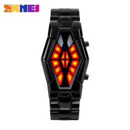 Wholesale Led Watch For Men Skmei Korean Fashion Creative Personality Student Electronic Sport Led Watch Men S Couple Waterproof Watch Ar Watch