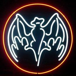 Wholesale 17 quot x14 quot Bacardi design Real Glass Neon Light Signs Bar Pub Restaurant Billiards Shops Display Signboards