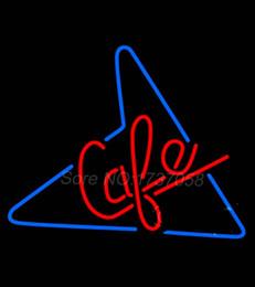 Signes de cow-boy à vendre-50 S Style Cafe Neon signe Avize Dallas Cowboys Jersey Neon Signes Real GlassTube Nu Signer cadeau 24 * 20