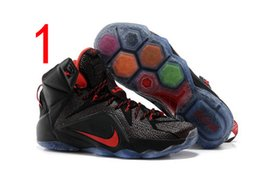 Wholesale James generations basketball shoes Nike shoes high for the elite combat boots shoes Including DHL shipping