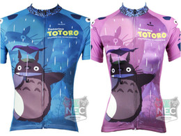 518 Totoro Couples Cycling Men's and women's Short Sleeve Cycling Jersey Quick Dry Plus Size maillot quality ciclo jersey Geniune Paladin