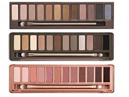hot Makeup Eye Shadow NUDE 1 2 3 5 6 7 12 colors Eyeshadow Palette fast shipping by dhl