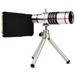 Wholesale-18X Mobile Phone Lens for iPhone 6  Plus 18X Zoom Telescope Camera Telephoto Lens for iPhone6 Zoom Telescope Camera Lens 4.7 5.5