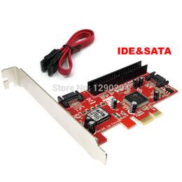 Wholesale eSATA Port SATA II RAID amp IDE quot to PCI E PCI Express Adapter Converter Card