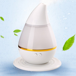 Wholesale LED Light Essential Oil Ultrasonic Air Humidifier electric Aroma Diffuser Aromatherapy Spa Vapor Healthful Mist Therapy