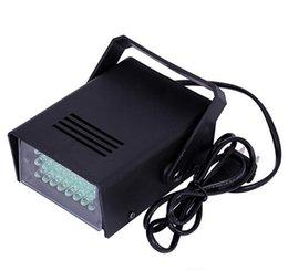 Wholesale 1pcs for sample W mm Mini LED Strobe Light Stage DJ Strobe Light green Flash Light Club Stage Lighting Party Disco Bulb V V