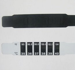 Wholesale Child Kid Forehead Test Temperature Head Strip Thermometer Fever Body Baby