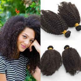 6pcs afro kinky curly Hair weaving Brazilian bundles unprocessed curl human virgin hair weave cheap CURLY HAIR weave fast delivery G-EASY