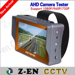 Wholesale New High Quality quot AHD Tester P P P HD Analog CCTV Camera LCD Monitor Test V Power Output Cheap