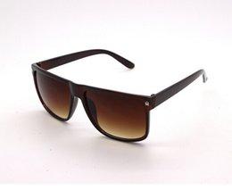 Wholesale-2015 Fashion vintage big black fashion rivet box sunglasses fashion square UV400 women & men oculos sunglasses myopia
