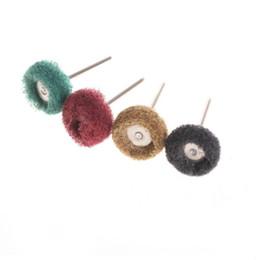 Wholesale 4Pc quot mm Abrasive Wheel Buffing Polishing Wheel Set For Dremel Rotary Tool