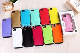 Wholesale Ultra Shock iface Innovation Hybrid TPU PC Silicone Case Credit Card Slot Armor Cases Back Cover For iPhone quot iPhone6 plus