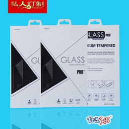 500pcs Paper Packaging retail package for screen protector tempered glass retail box
