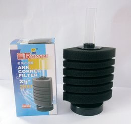 Wholesale Christian xy2891 cylinder filter small fish tank water oxygen aquarium