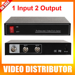 Wholesale Analog High Definition HD Video Splitter Points Output Support P P AHD HDCVI HDTVI Camera BNC Input Out Distance Max m