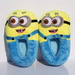 Wholesale Despicable Me Minions Plush Stuffed Slippers Cuddly Fluffy Collectible Jorge quot