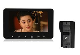 2015 New 4.3 Inch Video Door Phone ,Doorbel Intercom System IR Camera Monitor ,Unlock ,Two-Way Intercom Functions