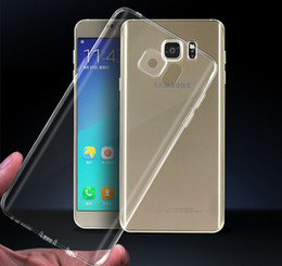 NEW soft Plastic TPU clear crystal transparent Ultra Thin back cover case for iphone for SamsungS6 s6edge note5 s6edge plus